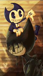 Bendy by BubbleGummy4