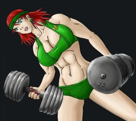 Circe Workout by tj-caris