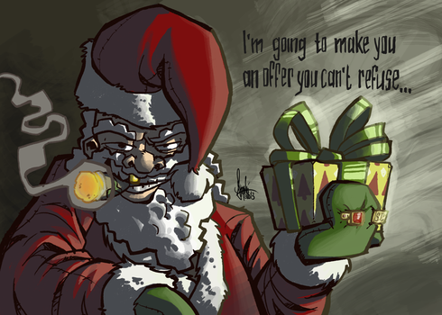 Christmas card 2013 by TheArtrix