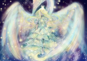 Pastel Swan Princess by Delight046