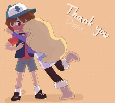 Thank you by Drawing-Heart