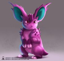 Kanto - Nidoran (male) by ArtKitt-Creations