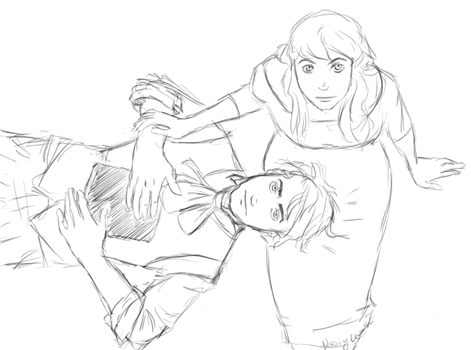 Tom and Ginny by fatalpen