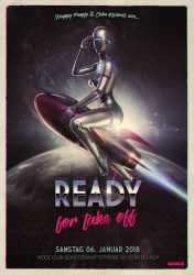 Ready for take off_Flyer Front by psygameboy