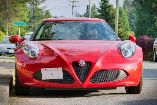 Alfa 4C by SeanTheCarSpotter
