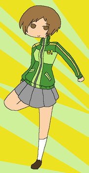 Persona 4: Chie by angel-clan