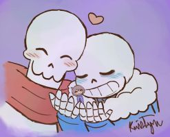 Skele-Cuddles by Friendlyfoxpal