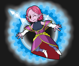Supreme Kai of Time by Patar-03