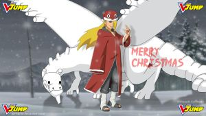 Deidara wish you a Merry Christmas! - Vjump by goriverde