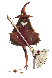 This Witch Pixelart by ChocoStyle
