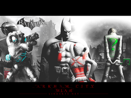 Wallpaper Batmam Arkham City by thiagoarantes20