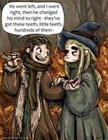 Barduil Hogwarts!AU - Wizards by the Woods by caycowa