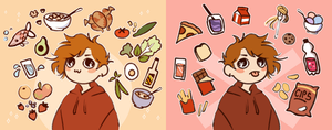 Good Food!! by R0BUTT