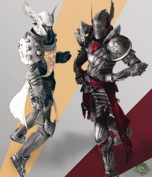Guild Wars 2 - Knight Pose by RyanReos