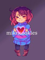 Frisk Chibi (Undertale) by MiknCookies