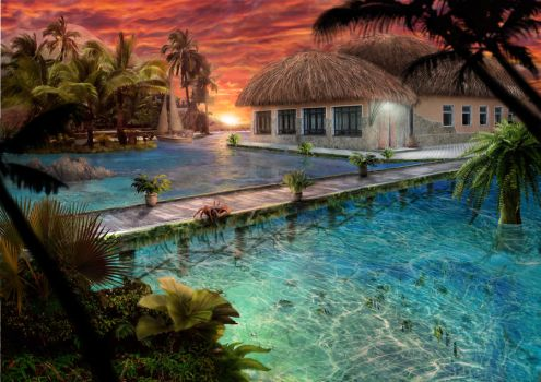 Tropic nature by Azot2017