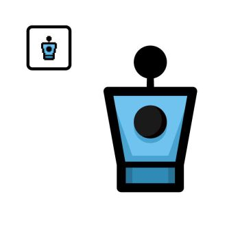 Vectorized Isaac #50: Teleport by giftedscholar