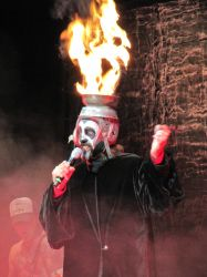 Arthur Brown at Alexandra Palace by thehellpatrol