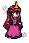 Princess bubblegum sticker design by Hotaru-oz