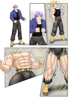 Goo Suit and Buff : Trunks 1/3