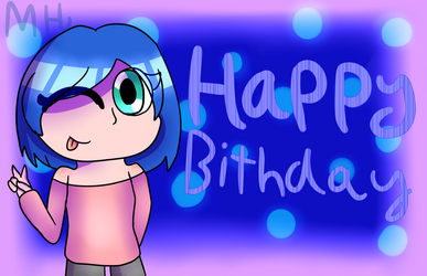 Gift - Happy Birthday Jodie! by OctoWeeb