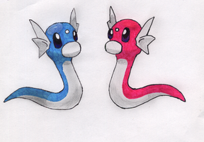Dratinis for ShinyDratini by sfxdx