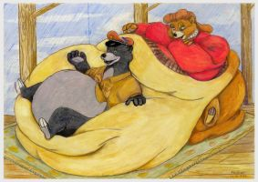 Fatter than Baloo 2 of 2 wg by SSsilver-c