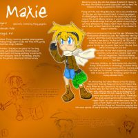 Referance Sheet - Maxie by SonicHearts