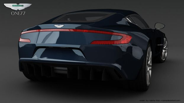 Aston Martin One77 3 by RJamp