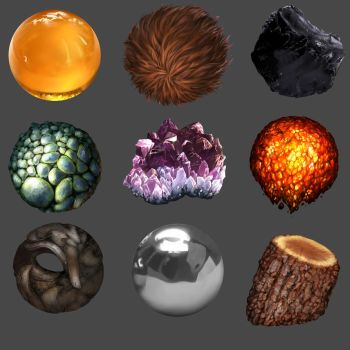 Material Balls in a material world by WhatItMeansToBeHuman