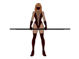 Psi-kick: Potential Costume for the Ryeverse by cptpatriot
