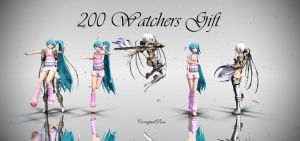(200 Watchers Gift) 'Horror' Pose Download Pack by CorruptedDestiny