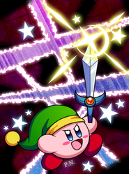 - Sword Kirby [Lacerate the Evil] - by Plucky-Nova