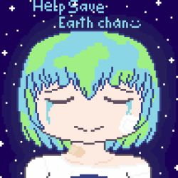 Earth chan by TheFox03