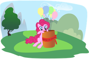 Pinkie's Balloons by chriserony