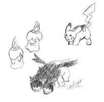 Pokedoodles by GhostLiger
