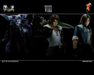 Dissidia 012 Wallpaper VIII by RoydGriffin