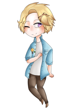 Yoosung by DarkmoonTheArtist