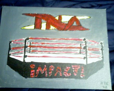 TNA iMPACT Painting by MrKTE