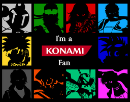 Konami -I'm a Fan- Wallpaper series by spdy4