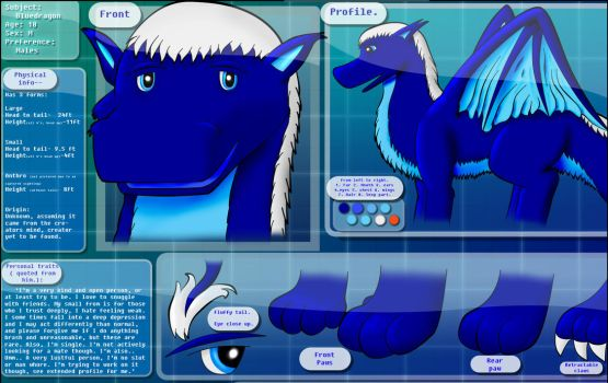 Blue reference. by bluedragon012