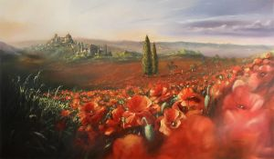 Carols Poppies by donpackwood