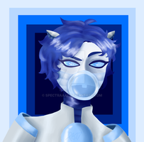 Request - Strategos Six (SPEEDPAINT) by CryDontSmile