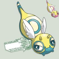 D hero forme of dunsparce