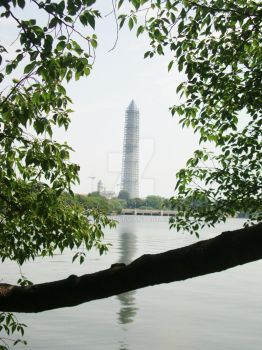 Washington Monument from the Tidal Basin by Grizzie