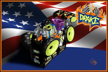 Adam Drakes Remote control Losi on starterbox by PIKEO