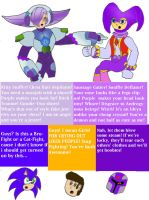 NiGHTS and Lumine - Androgynous Talk by imadmagician