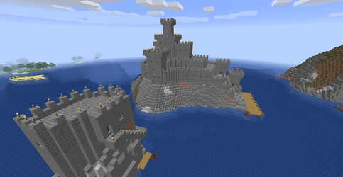 Island Castle by ColtCoyote