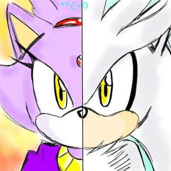 Next Gen- Silver and Blaze by Dolltwins