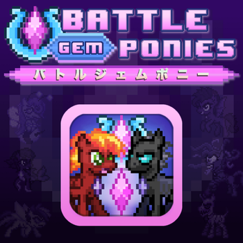 Battle Gem Ponies - Box Art by YotesGames